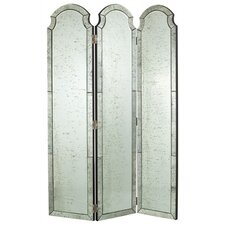 "76"" x 54"" Isabella 3 Panel Room Divider"