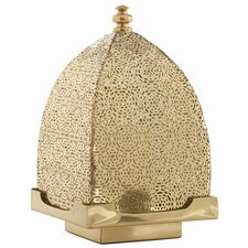 Sullivan Polished Brass Perforated Lantern