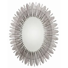 Prescott Oval Iron Mirror