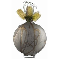 Overton Disc Glass Vase