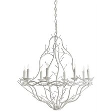Durango 8 Light Iron Chandelier