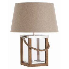 "Tate 25"" H Table Lamp with Empire Shade"