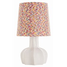 "Apostle Geometric 28.5"" H Table Lamp with Drum Shade"