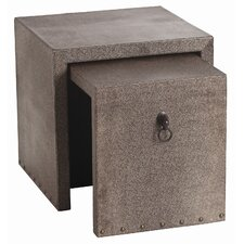 Equus 2 Piece Nesting End Table