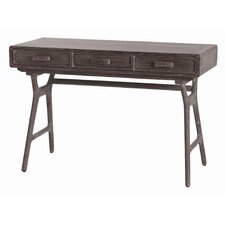 Phillip Mushroom 3 Drawer Desk