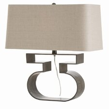 "Franklin 21"" H Table Lamp with Rectangle Shade"