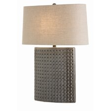 "Dakota 26.5"" H Table Lamp with Oval Shade"