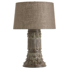"Artifacto 28"" H Table Lamp with Drum Shade"
