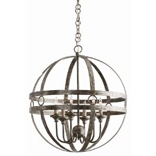 Hollace 6 Light Mini Chandelier