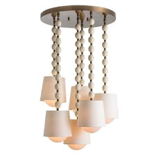 Marfil 6 Light Mini Pendant