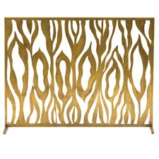 Gina Iron Fireplace Screen