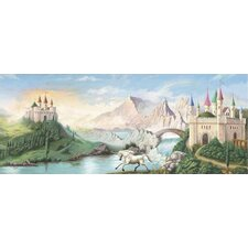 <strong>4 Walls</strong> Enchanted Kingdom Castle Mural in Multi