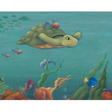 Undersea Free Style Wallpaper Border