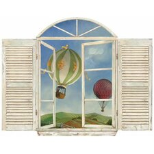 Balloon Window Wall Decal