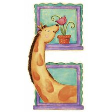 Giraffe Panel Wall Decal