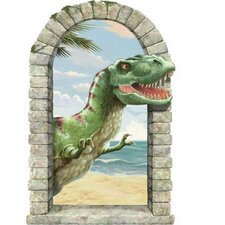 T-Rex Window Wall Decal