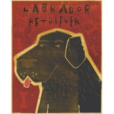 Top Dog Labrador Retriever Wall Decal