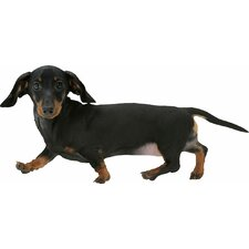 Puppy Love Miniature Dachshund Wall Decal