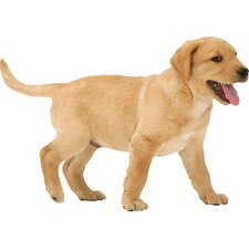 Puppy Love Yellow Lab Wall Decal