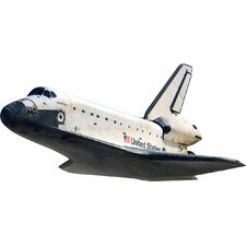 <strong>4 Walls</strong> Space Shuttle In Flight Wall Decal