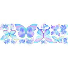 Fluttering Butterfly Wall Decal