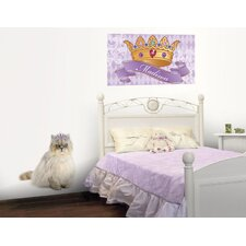 Princess Kitty Wall Decal