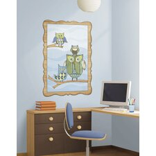 Owl Window Wall Decal