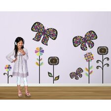 Rainbow Garden Wall Decal