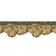 <strong>4 Walls</strong> Lodge Décor Berry Scroll Border Wallpaper