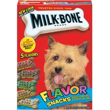 "7.6"" 5 Flavor Snacks Biscuits Dog Treat"