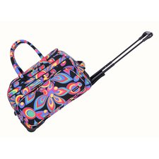 "Wild Flower 21"" Carry All Duffel"