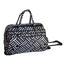 "<strong>Jenni Chan</strong> Dots 20"" 2 Wheeled Carry-On Duffel"