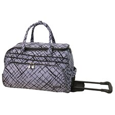 "Brush Strokes 20"" 2 Wheeled Carry-On Duffel"