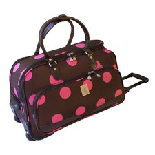"<strong>Jenni Chan</strong> Dots 22"" Carry All Duffel"