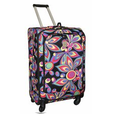 "<strong>Jenni Chan</strong> Wild Flower 360 Quattro 25"" Upright Spinner Suitcase"