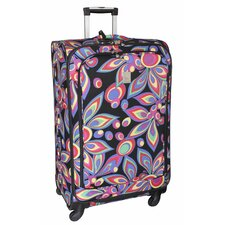 "<strong>Jenni Chan</strong> Wild Flower 360 Quattro 28"" Upright Spinner Suitcase"