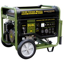 <strong>Buffalo Tools</strong> Sportsman Series 7500 Watt Dual Fuel Generator