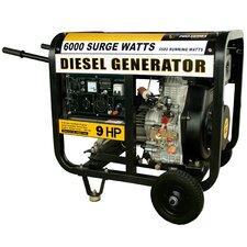 Pro Series 6,000 Watt Diesel Generator