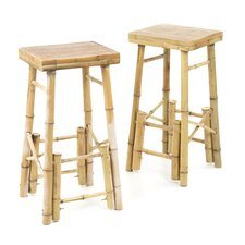 "Bamboo 29"" Barstool (Set of 2)"