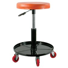 Black Bull Height Adjustable Swivel Bar Stool