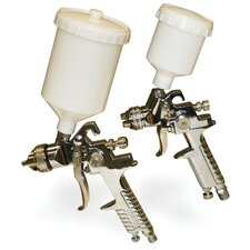 2 Piece Gravity Fed Spray Gun Kit