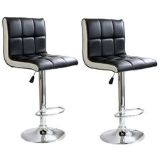 AmeriHome Padded Bar Stool (Set of 2)