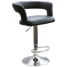 "<strong>Buffalo Tools</strong> AmeriHome 24"" Adjustable Swivel Bar Stool with Cushion"