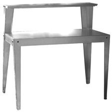 Multi-Use Galvanized Steel Top Workbench