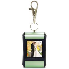 Digital Photo Key Chain with Clip (Pair of 2 Key Chains)