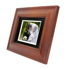 Beveled Lined Bezel Digital Picture Frame