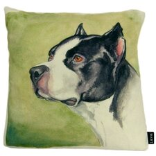 Boxer Painted Pillow