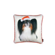 Holiday Papillion Pillow