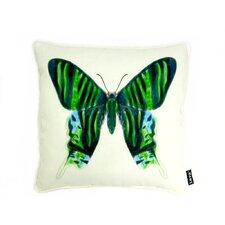 Noir Vert Polyester Pillow