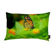 Monarch Bloom Polyester Pillow